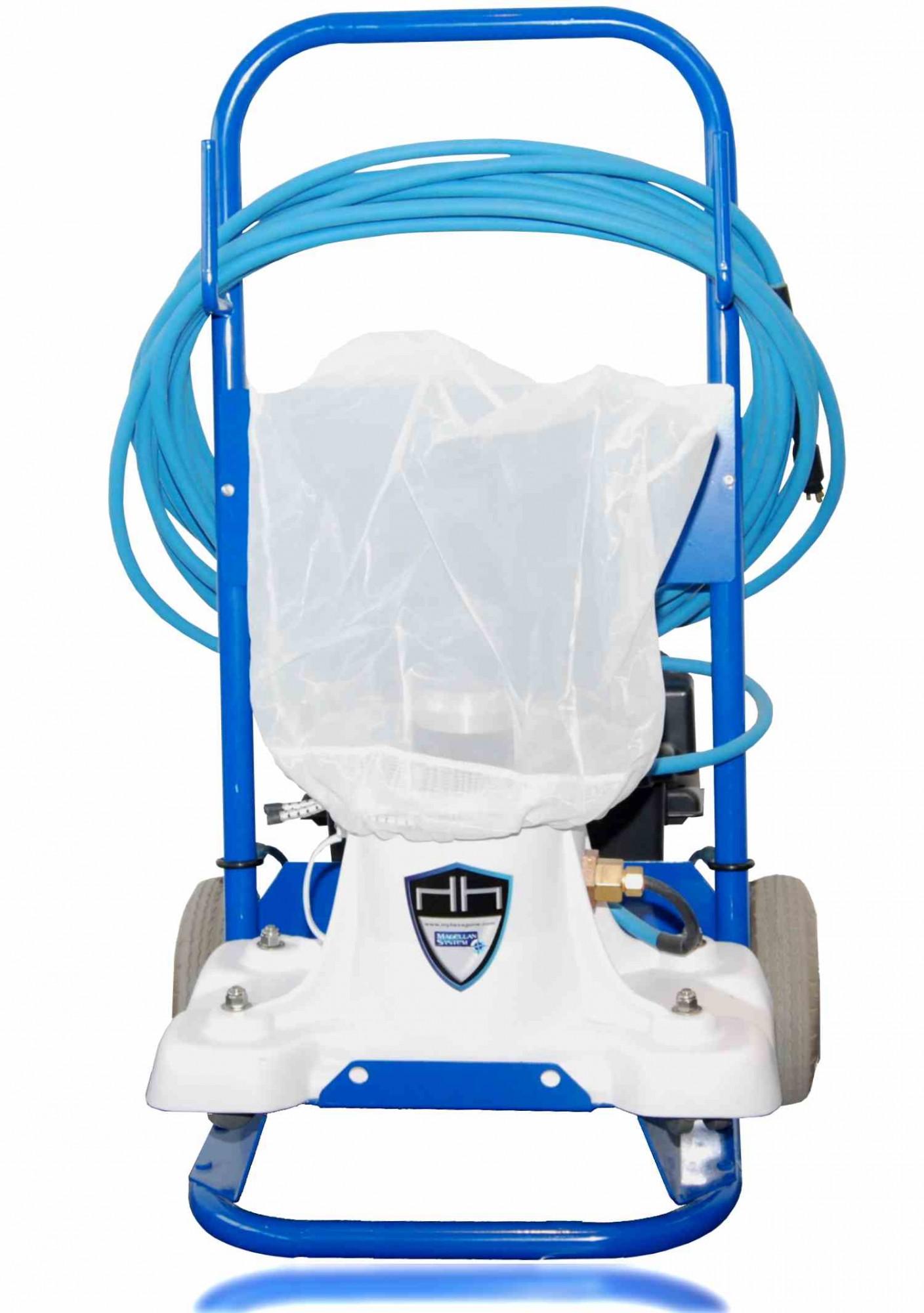 Aspirateur manuel avec filtration integree quick vac jp - Aspirateur piscine electrique manuel ...